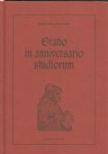 Oratio in anniversario studiorum : [Padova, 28 ottobre 1451] manoscritto latino, XV secolo