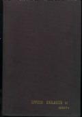 INDUSTRIE AGRARIE. RIVISTA DELLE INDUSTRIE ENOLOGICHE, CASEARIE, OLEARIE, CONSERVIERE. Annate 1966 e 1967