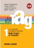 TAG 1 -testi autori generi-  Dalle Origini al Trecento