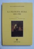La filosofia russa 1800-1900