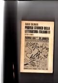 Profilo storico della letteratura italiana III