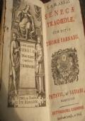 L. & M. Annaei Senecae Tragoediae cum notis Thomae Farnabii