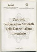 L'ARCHIVIO DEL CONSIGLIO NAZIONALE DELLE DONNE ITALIANE. INVENTARIO