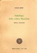 Antologia della critica filosofica. Vol.II:Medioevo e Rinascimento.