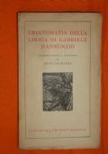 Crestomazia della lirica di Gabriele D'Annunzio