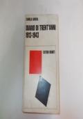 DIARIO DI TRENT'ANNI 1913-1943