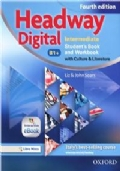 HEADWAY DIGITAL INTERMEDIATE Student's book and Workbook with Culture and Literature