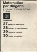 Matematica per Dirigenti  (4 volumi)