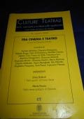 Culture teatrali nr.19. Fra cinema e teatro