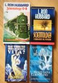 LOTTO DI 4 LIBRI DI L. RON HUBBARD - Scientology