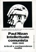 INTELLETTUALE COMUNISTA 1926-1940