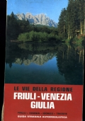 LE VIE DELLA REGIONE FRIULI-VENEZIA GIULIA FRIULI - CARNIA - ISONZO - TRIESTE Guida stradale automobilistica