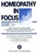 HOMEOPATHY IN FOCUS ZDN Congress Proceedings 1989