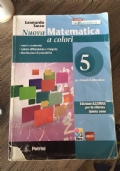 NUOVA MATEMATICA A COLORI EDIZIONE AZZURRA VOLUME 5