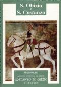 Memorie de' Santi confessori di Cristo Coastanzo ed Obizio di Niardo. S. Obizio e S. Costanzo. Edizione anastatica delle opere.