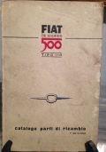 FIAT LA NUOVA 500 TIPO 110 CATALOGO PARTI DI RICAMBIO