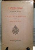 COMMEMORAZIONE DEL CINQUANTESIMO ANNIVERSARIO DELLE OTTO GIORNATE DEL MAGGIO 1849 E DELLA MORTE DI UGO BASSI