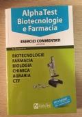 Alpha Test Biotecnologie e Farmacia, esercizi commentati