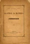 LO STILE, LA MANIERA DEL CORREGGIO