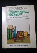 TENDENZE DELLA FILOSOFIA ITALIANA NELL'ETA' DEL FASCISMO.