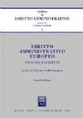 Diritto amministrativo europeo: principi e istituti