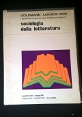 SOCIOLOGIA DELLA LETTERATURA