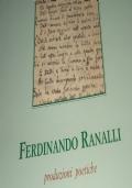 Produzioni Poetiche - Ferdinando Ranalli