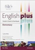 ENGLISH PLUS ELEMENTARY 1 ED MISTA CON VERSIONE SCARICABILE INTERATTIVA / SB + WB  +EBK