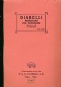 A. Diabelli - Sonatine per pianoforte (op. 151 e 168)