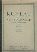 F. Kuhlau - Sette sonatine per pianoforte (op. 60 e 88)