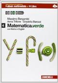 Matematica verde 4. Con Maths in english. Per le Scuole superiori. Con e-book. Con espansione online