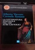 La letteratura spagnola dal cid ai re cattolici
