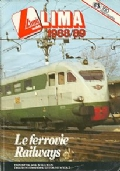 LIMA CATALOGO GENERALE 1988/89 SCALA HO (MODELLINI TRENINI)