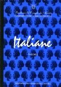 ITALIANE vol. I DALL'UNITA' D'ITALIA ALLA PRIMA GUERRA MONDIALE