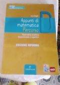 Appunti di matematica percorso D