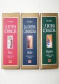 LA DIVINA COMMEDIA. 3 volumi: Inferno, Purgatorio, Paradiso