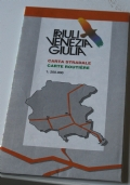 Friuli Venezia Giulia. Carta stradale 1:200.000