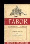 TABOR dicembre 1950 numero 6  NUMERO DEDICATO ALLA S. SINDONE