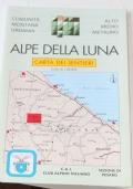 Alpe della Luna. Carta dei sentieri. 1:25.000