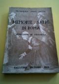 Memorie sarde in Roma