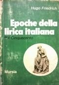 Epoche della lirica italiana. 2. Il Cinquecento