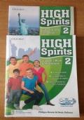High spirits 2  ( 2 volumi + DVD)