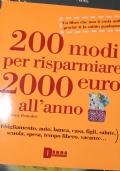 200 modi per risparmiare 2000 euro all'anno