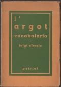 L'argot : vocabolario