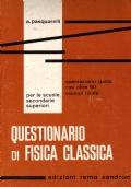 Questionario di fisica classica