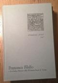 Francesco Filelfo educatore e il Codice Sforza della Biblioteca Reale di Torino