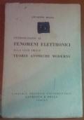 Introduzione ai fenomeni elettronici