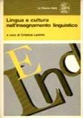 LINGUA E CULTURA NELL'INSEGNAMENTO LINGUISTICO