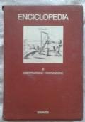 Enciclopedia Einaudi. 4 costituzione - divinazione