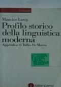 Profilo storico della linguistica moderna